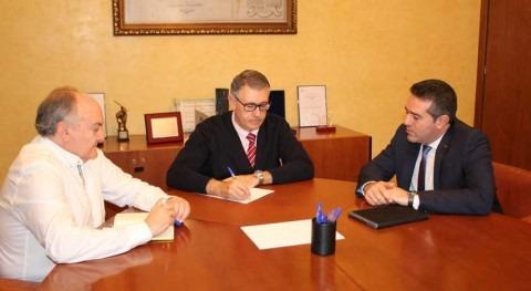 CHS y Ayuntamiento Alcantarilla mantienen reunión tratar asuntos cuenca