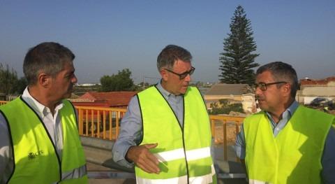 Hugo Morán visita zonas afectadas lluvias torrenciales Murcia y Alicante