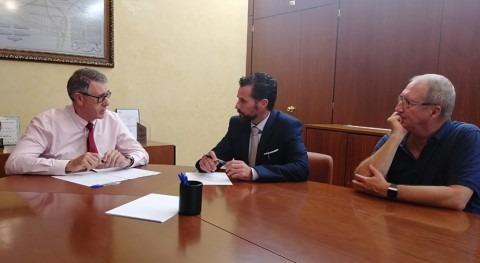 Mario Urrea habla infraestructuras concejal Fomento Ayuntamiento Murcia