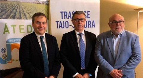 presidente CHS asiste jornada acueducto Tajo-Segura Madrid