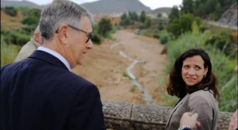 Mario Urrea visita Elche Sierra, Hellín y Liétor y conoce necesidades materia hídrica