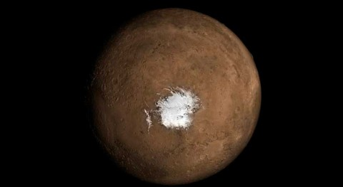 Marte podría albergar cámara magma que propicia existencia agua líquida