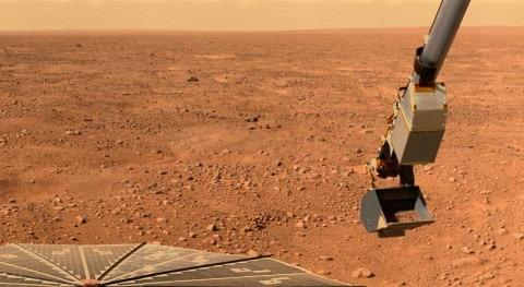 Hallados rastros antiguas riadas agua cráter Gale Marte