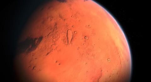 nave espacial Mars Express descubre varios estanques agua líquida polo sur Marte