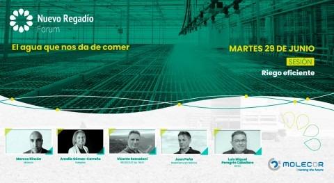 Empresas líderes unen Nuevo Regadío Forum eficiencia riego binomio agua-energía