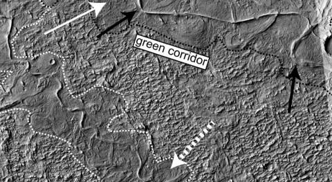 Halladas más evidencias agua Marte