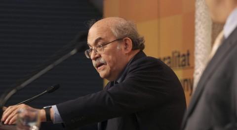 El conseller de Economía de la Generalitat de Catalunya, Andreu Mas-Colell.