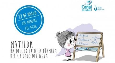 Canal Isabel II se suma al Día Mundial Agua fórmula cuidado este recurso