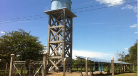 Energía solar y agua rural Honduras