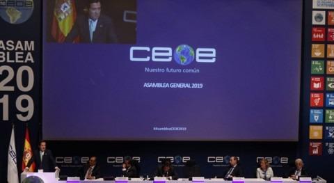 AGA presente Asamblea General CEOE