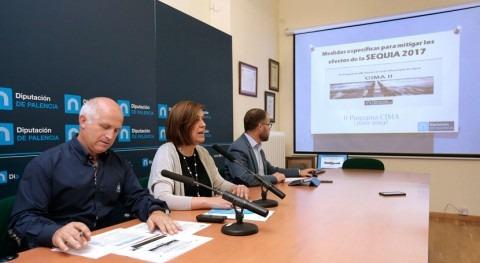 Palencia pone marcha batería medidas hacer frente sequía