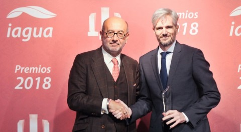 Aqualia gana nuevo categoría Mejor Contrato Premios iAgua 2018