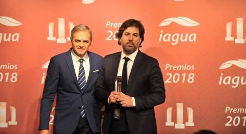 Foro Economía Agua, se alza Premio iAgua al Mejor Evento 2018