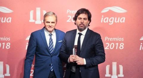 Foro Economía Agua se alza Premio iAgua al Mejor Evento 2018