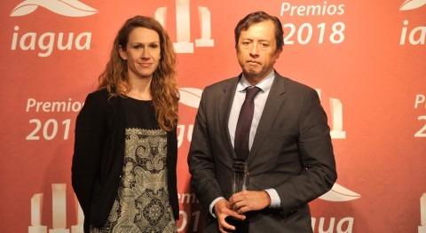 CAF, se consolida como Mejor Organismo Internacional Premios iAgua 2018