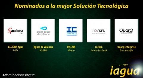 Premios iAgua reconocerán Mejor Solución Tecnológica 2016