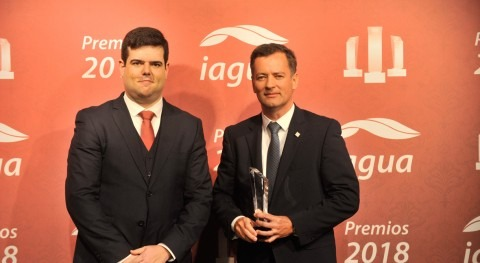 AQUA España recibe Premio iAgua 2018 trayectoria