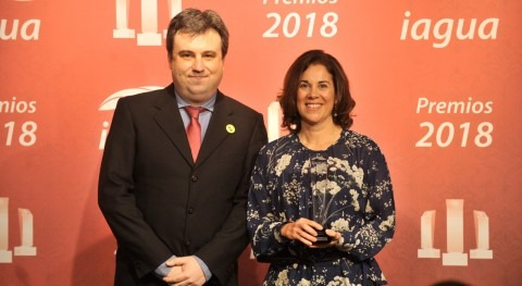 Schneider Electric, premio Mejor Evolución Interanual Premios iAgua 2018