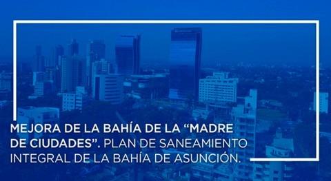 """Mejora bahía """"Madre Ciudades"""". Plan saneamiento bahía Asunción"""