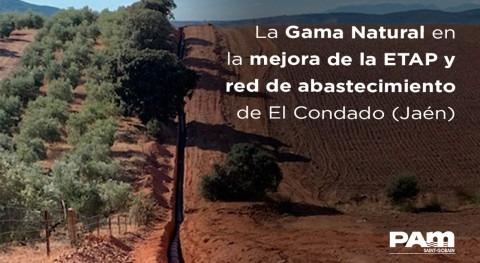 Mejora ETAP y red alta abastecimiento Condado (Jaén)