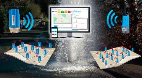 Tecnología transformación digital localización fugas