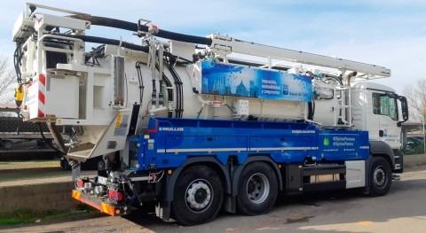 Tecsan suministra Aguas León camión Müller limpieza alcantarillado