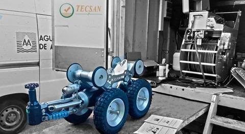 Aguas Alicante adquiere robot fresado TECSAN red saneamiento