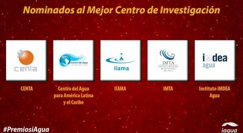 nominados al mejor Centro Investigación 2018