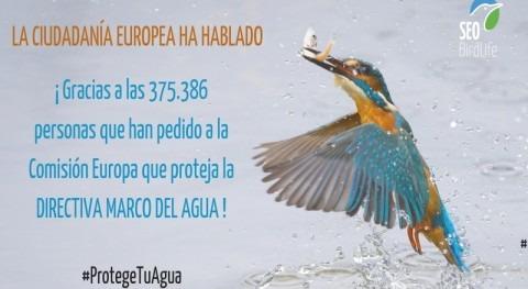 ciudadanía europea se moviliza defensa ley que protege aguas Europa