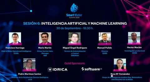 expectativas usuarios y gestores agua, cubiertas IA y machine learning