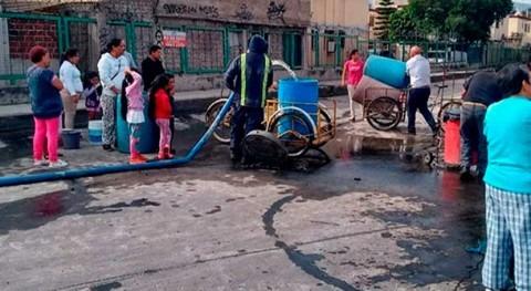 crisis agua México provoca que 12 millones personas no tengan acceso agua potable