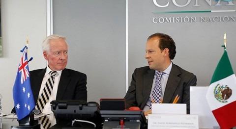 David Korenfeld sostuvo una reunión con el Embajador de Australia en México, Tim George (Conagua).