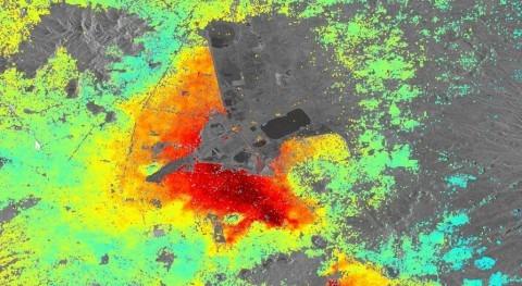extracción agua subterránea hunde México DF
