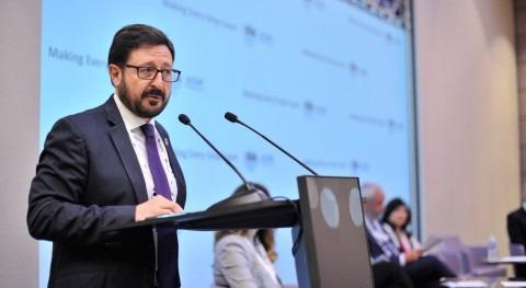 """Miguel Ángel Sanz: """" España, agricultura es gran cliente reutilización agua"""""""