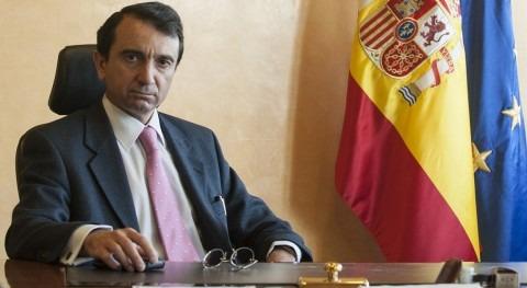 Miguel Antolín presidente de la Confederación Hidrográfica del Tajo (Fotografía: González Cebrián)