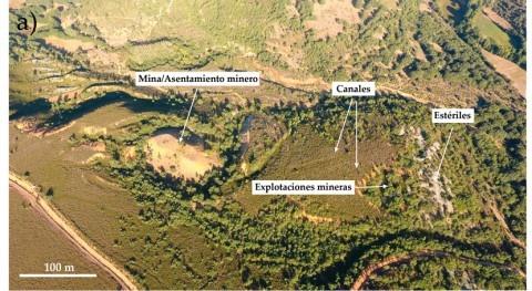 drones revelan canales agua excavados hace 2.000 años minería romana León