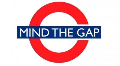 """Mind the gap"" (Cuidado hueco) (I)"