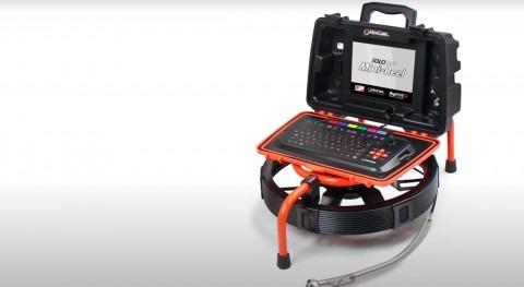 Tecsan organiza microwebinar Mini-Reel, cámara inspección pequeños diámetros