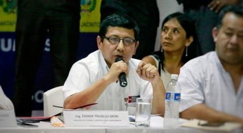 """Edmer Trujillo: """"Estamos comprometidos resolver problema agua Tumbes"""""""