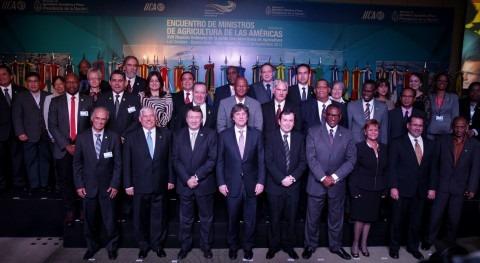 manejo sostenible recursos hídricos centra Encuentro Ministros Agricultura Américas