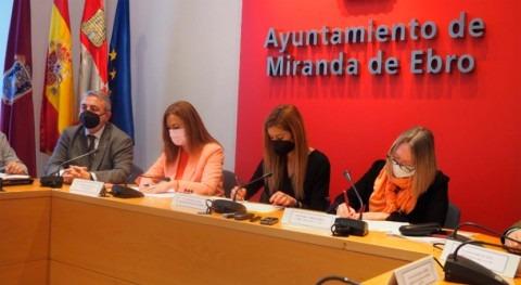 Acuaes y Miranda Ebro firman ampliación EDAR municipio 16,5 millones euros
