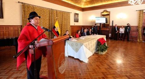 """""""Misión agua y Saneamiento Todos"""" busca mejora calidad vida ecuatorianos"""