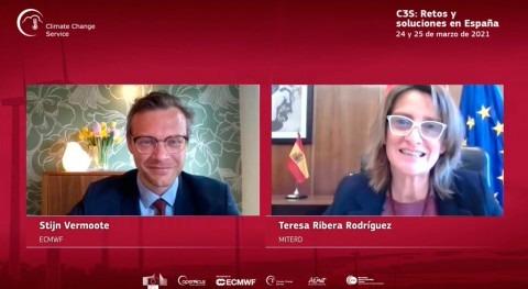 Teresa Ribera señala importancia datos frente vulnerabilidades climáticas