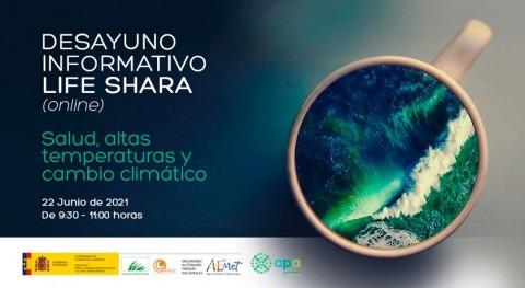 LIFE Shara presenta actuaciones adaptación al cambio climático olas calor España