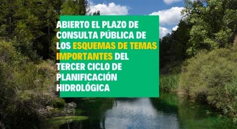 Abierto plazo consulta pública ETI tercer ciclo planificación hidrológica