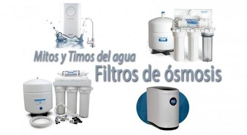 Mitos y timos agua: Filtros ósmosis