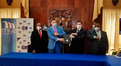 Miya firma nuevo contrato eficiencia hídrica $13 millones Jamaica