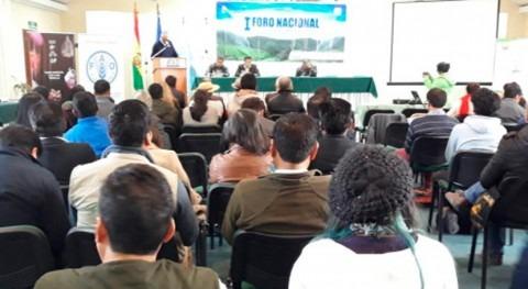 Bolivia fortalece gestión integral agua producción alimentos
