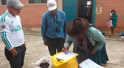 Bolivia entrega agricultores semillas maíz mayor resistencia al cambio climático
