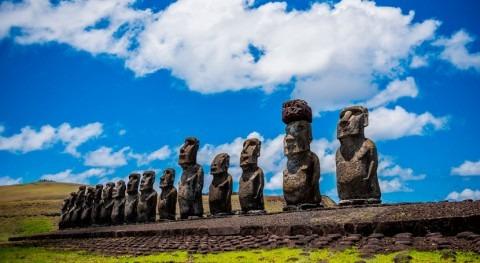 monumentos isla Rapa Nui, estrechamente ligados abastecimiento agua